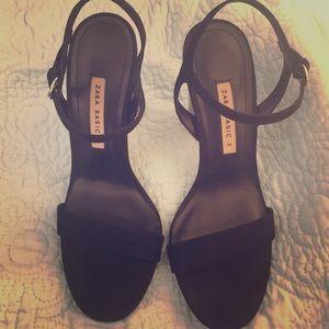 Zara Basic Collection Black Shoes